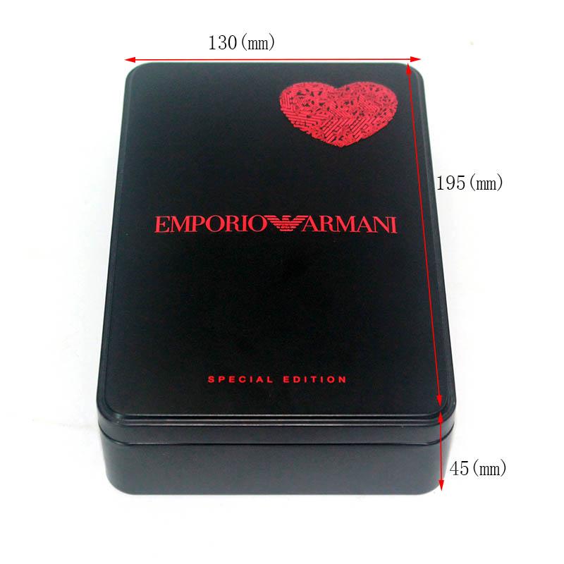 Kundenspezifische rechteckige Kosmetikdose Box Größe