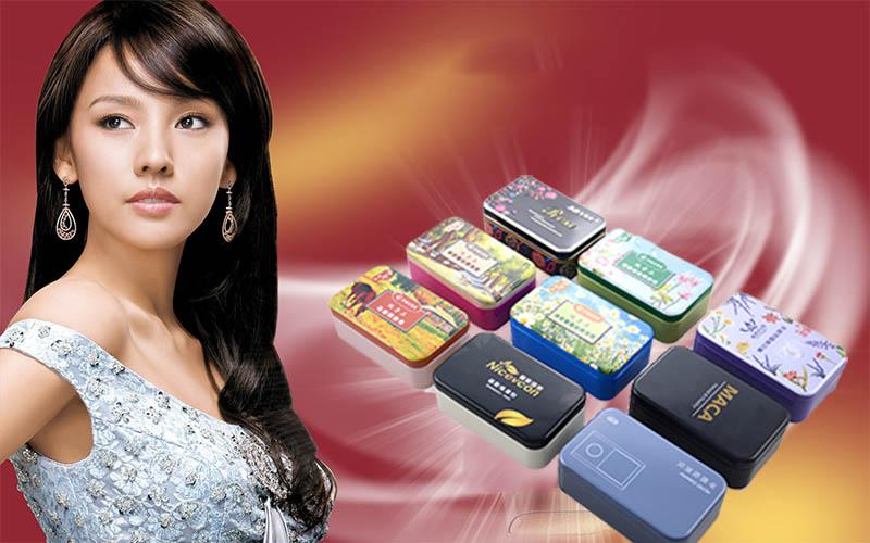 Série de boîtes à savon rectangulaires de haute qualité