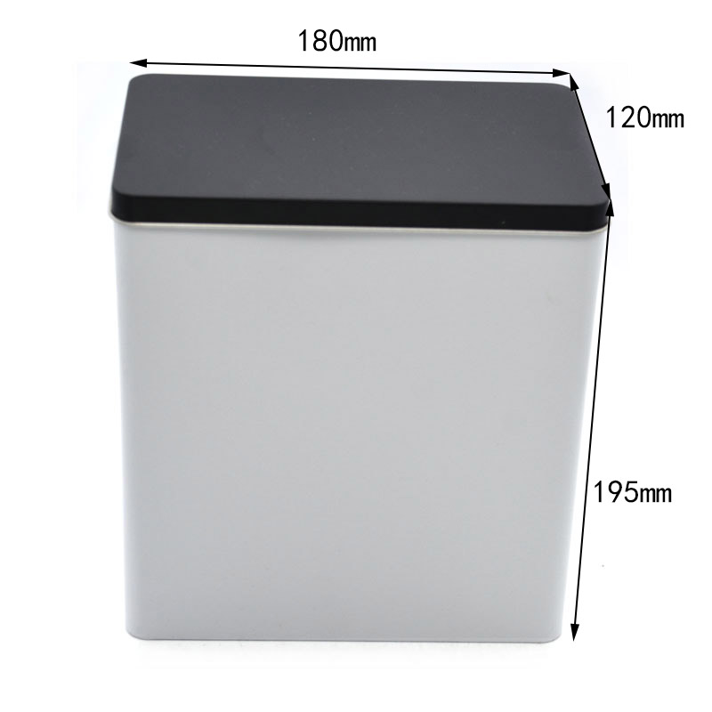 Taille de boîte de conserve vide rectangulaire personnalisée
