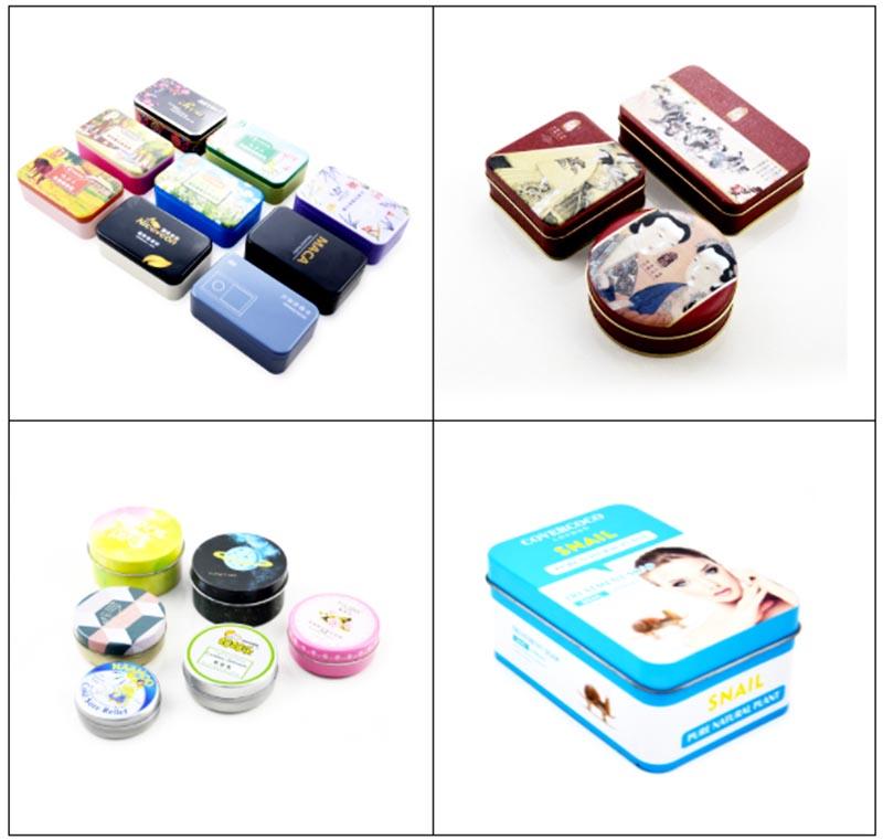 Série de caixas de saboneteira retangular de alta qualidade