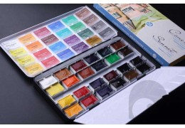 Introduction to the artist's watercolor metal box and its production process