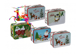 How to choose a Christmas gift tin box