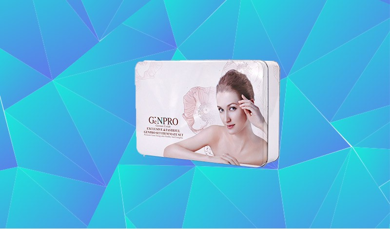 Rectangular Small Printed Hinged Makeup Tin Can Eyeshadow Palette Packaging Cosmetic Metal Tin Box